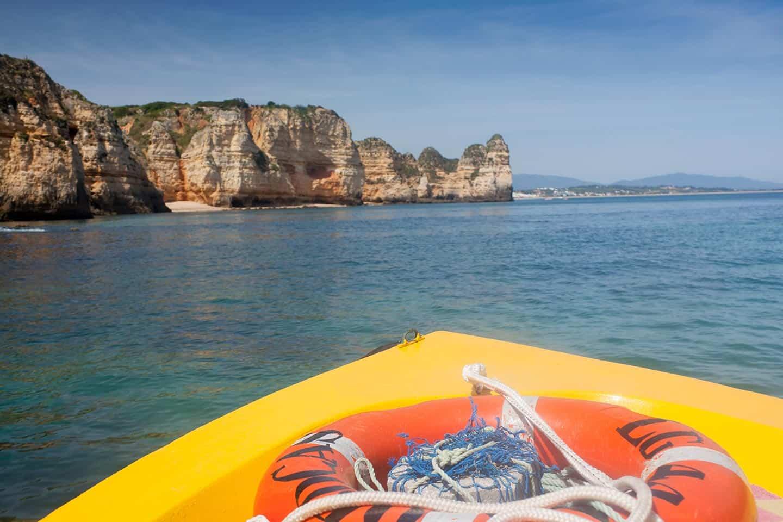 Image of boat trips Albufeira Algarve Portugal