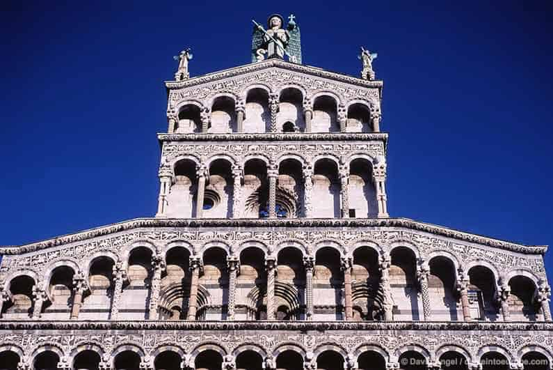Best Places to stay in Tuscany Image of San Michele in Foro church, Lucca