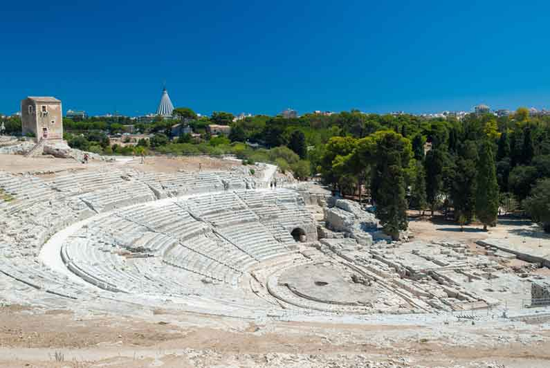 Siracusa Sicily Greek theatre