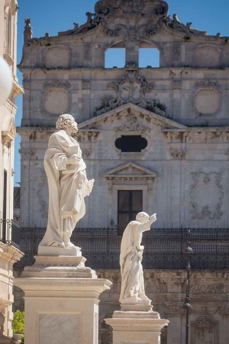Ortigia Sicily Santa Lucia church