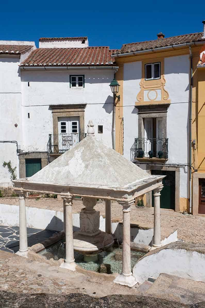 Image of Fonte de Vila Castelo de Vide Portugal