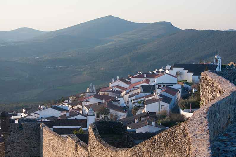 Image of Marvao village and mountains