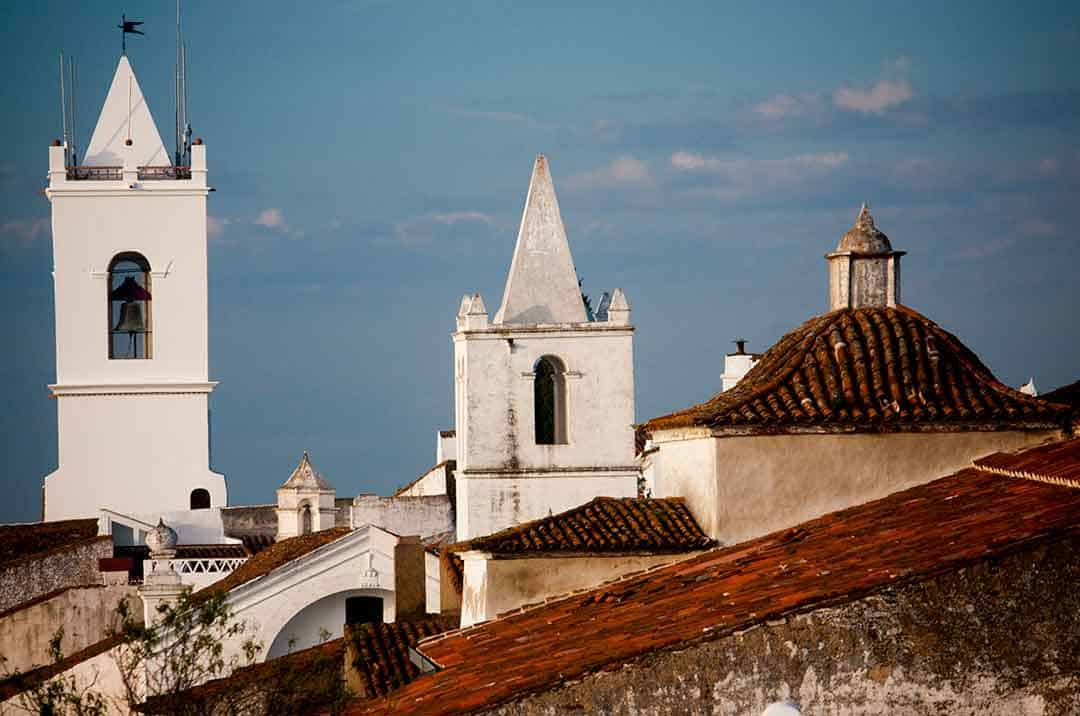 Image of the skyline of Monsaraz, Portugal