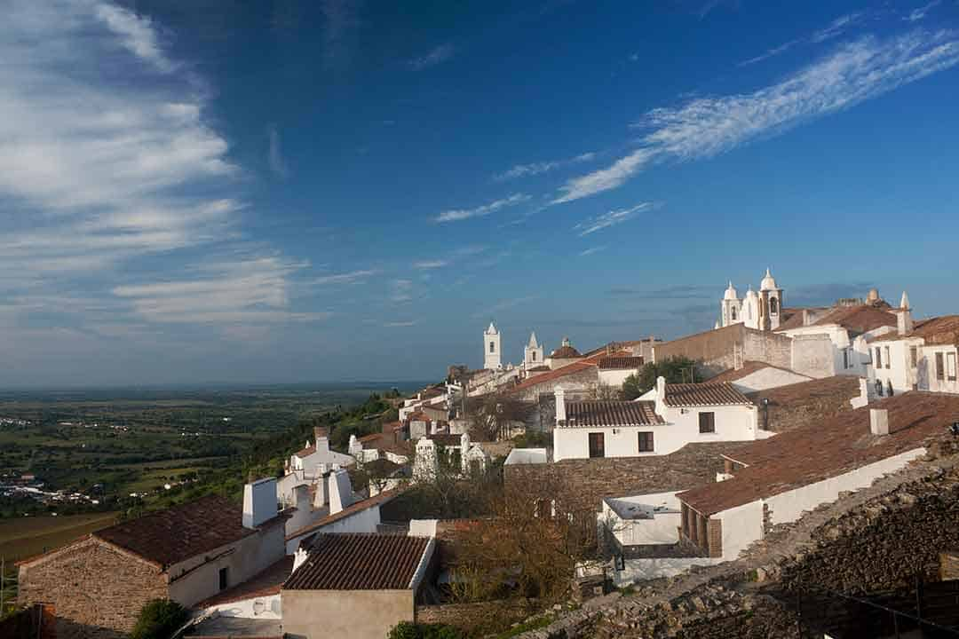 Image of Monsaraz, Portugal from the Castle Walls