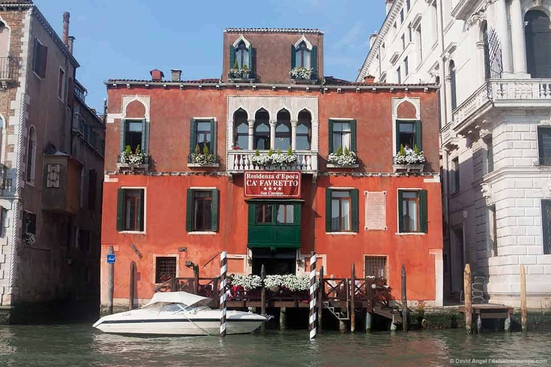 Image of San Cassiano Hotel on the Grand Canal, Venice