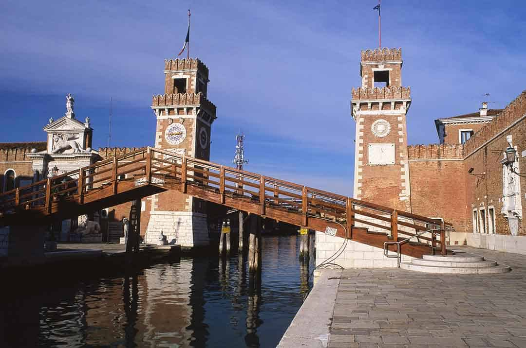 Image of Arsenale gateway,