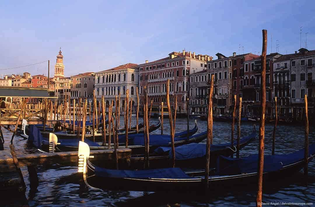 Image of the Grand Canal from the San Polo side, Venice