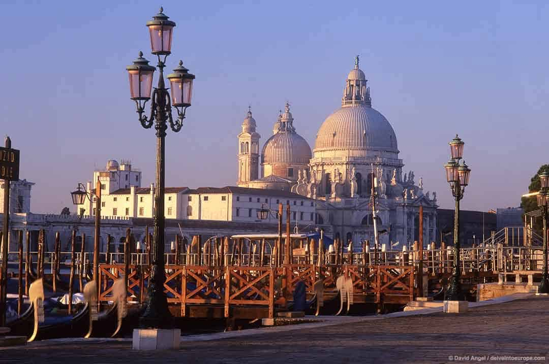 Image of Santa Maria della Salute church, Venice