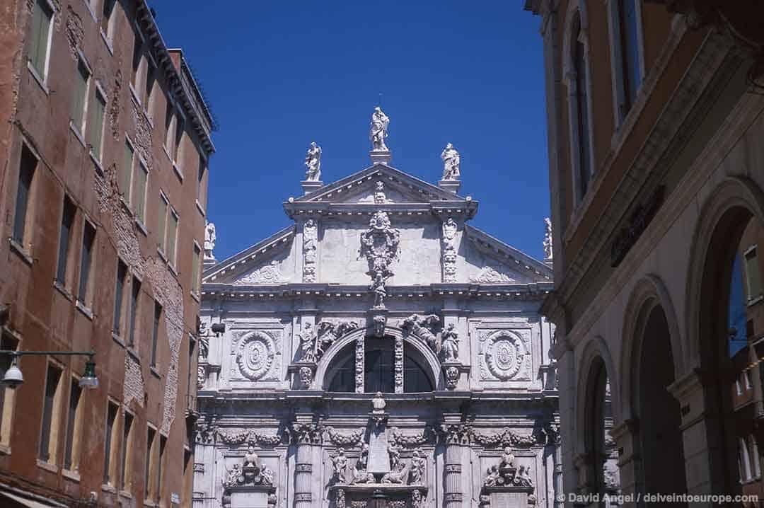 Image of San Moise church Venice