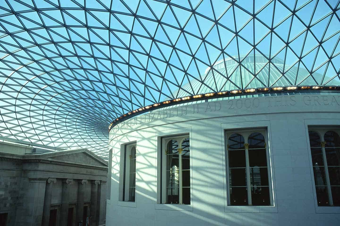 Image of the Great Court at the British Museum, London