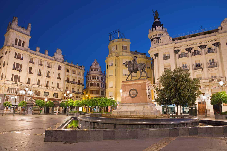 Image of Plaza de las Tendillas square in Cordoba