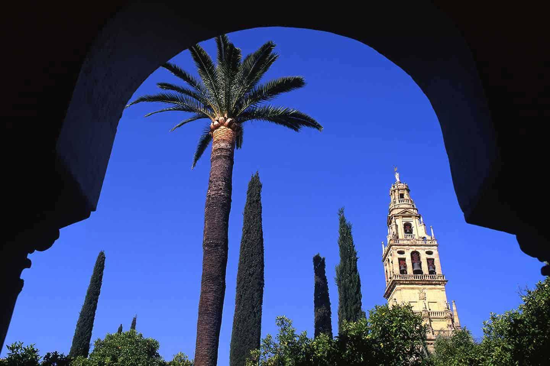 Image of Cordoba Spain attractions the Patio de los Naranjos