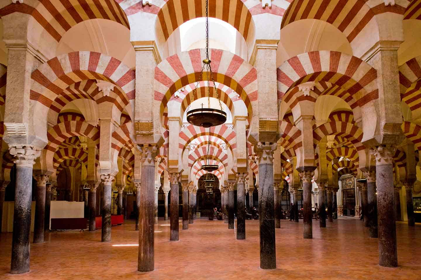 Image of Cordoba things to do the arches of the Mezquita