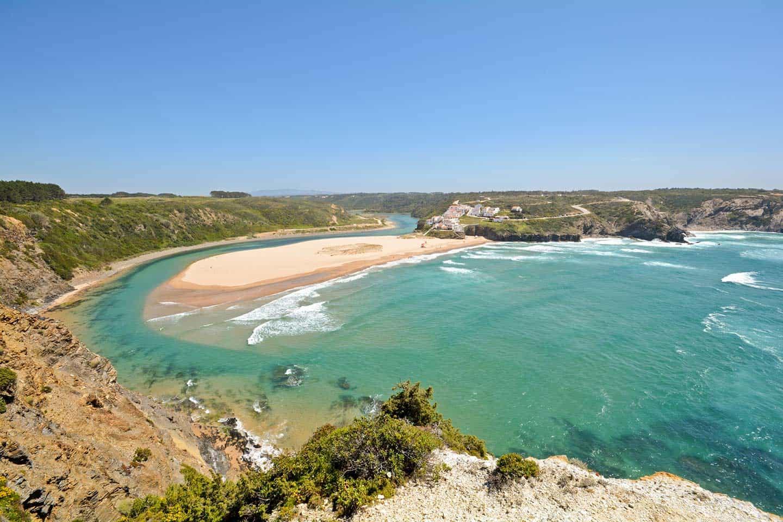 Odeceixe Portugal Image of Praia da Odeceixe beach