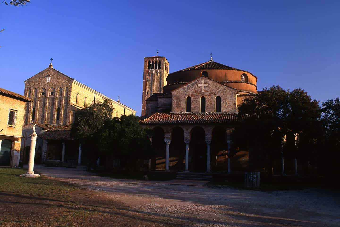 Image of Cathedral and Santa Fosca church on Torcello island, Venice
