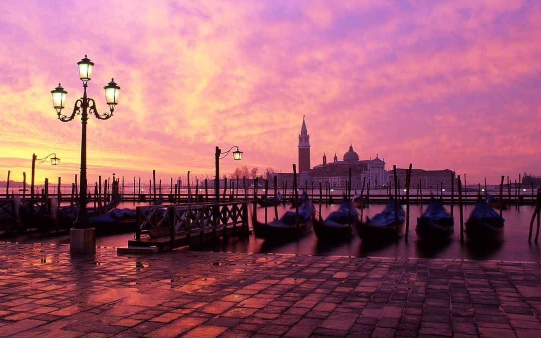 Best Area to Stay in Venice Image of San Giorgio Maggiore Venice Italy at dawn