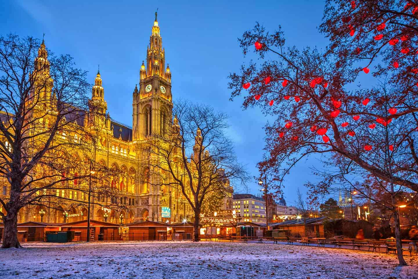 Image of Vienna at Christmas