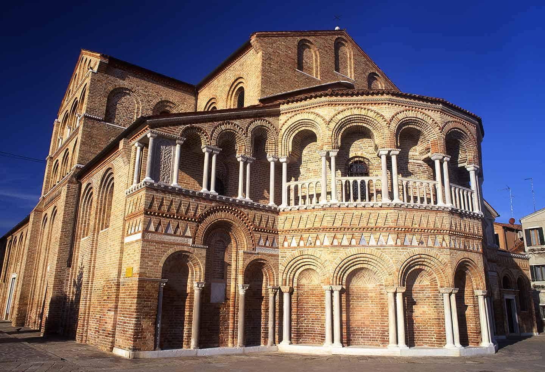 Image of the church of Saints Maria & Donato, Murano, Venice