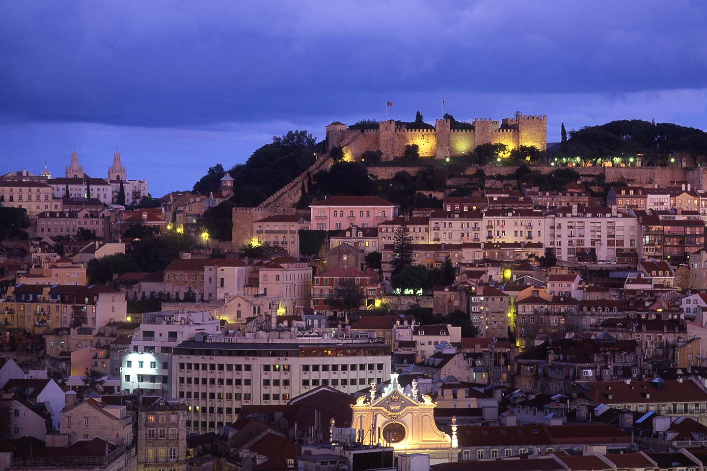 Image of the Castelo de Sao Jorge in Lisbon