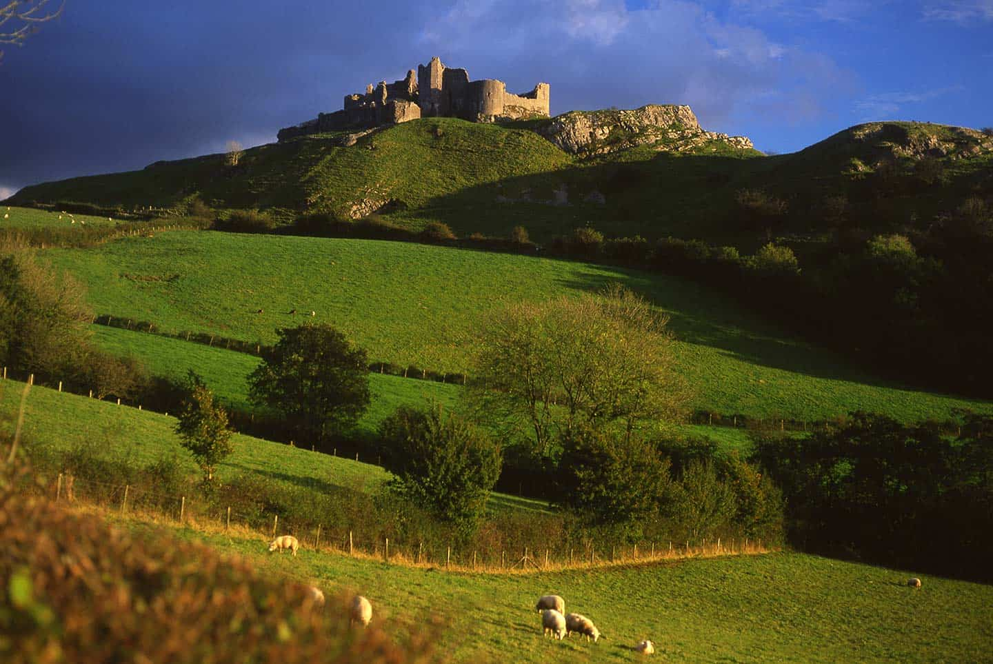 Image of Carreg Cennen Castle, Wales