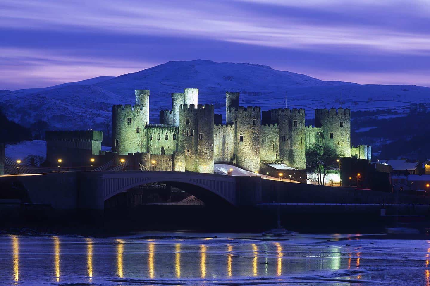 Image of Conwy Castle, one of the top castles in the world