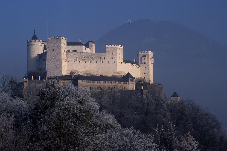 Image of the Hohensalzburg fortress, Salzburg, Austria