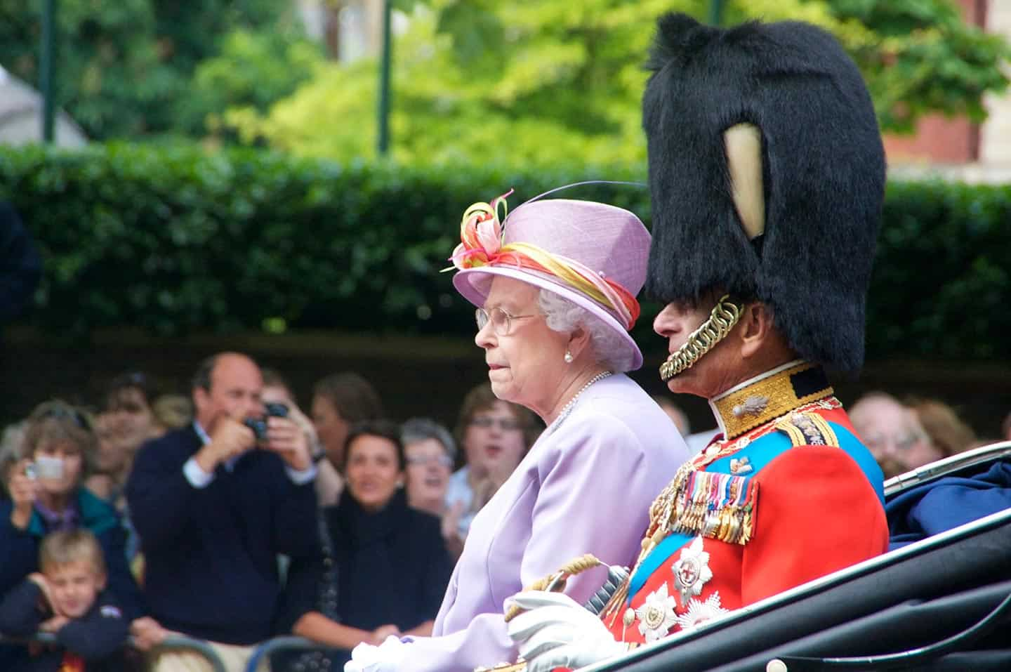 Image of the Queen and Duke of Edinburgh
