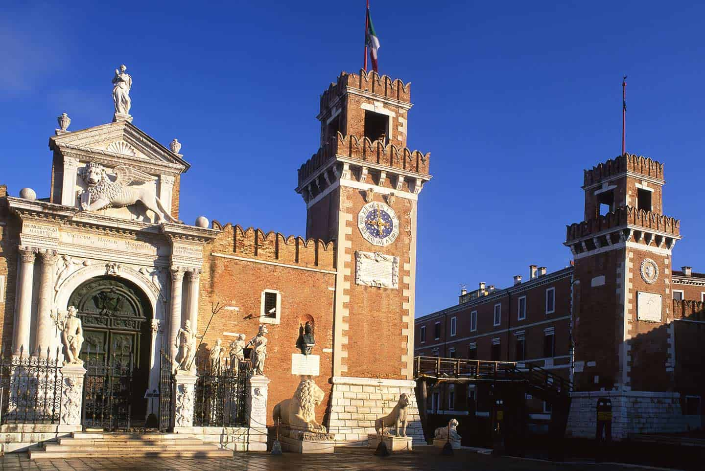 Top things to do in Venice Italy the Porta Magna gateway to the Arsenale