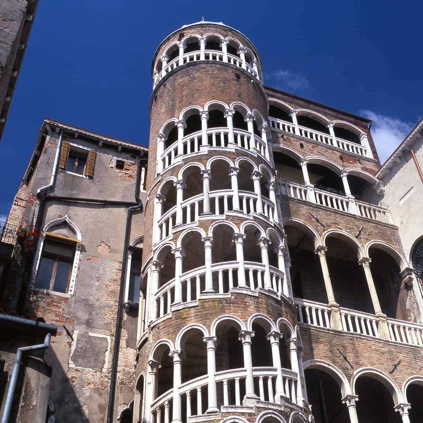 Image of the Scala Contarini del Bovolo staircase in Venice
