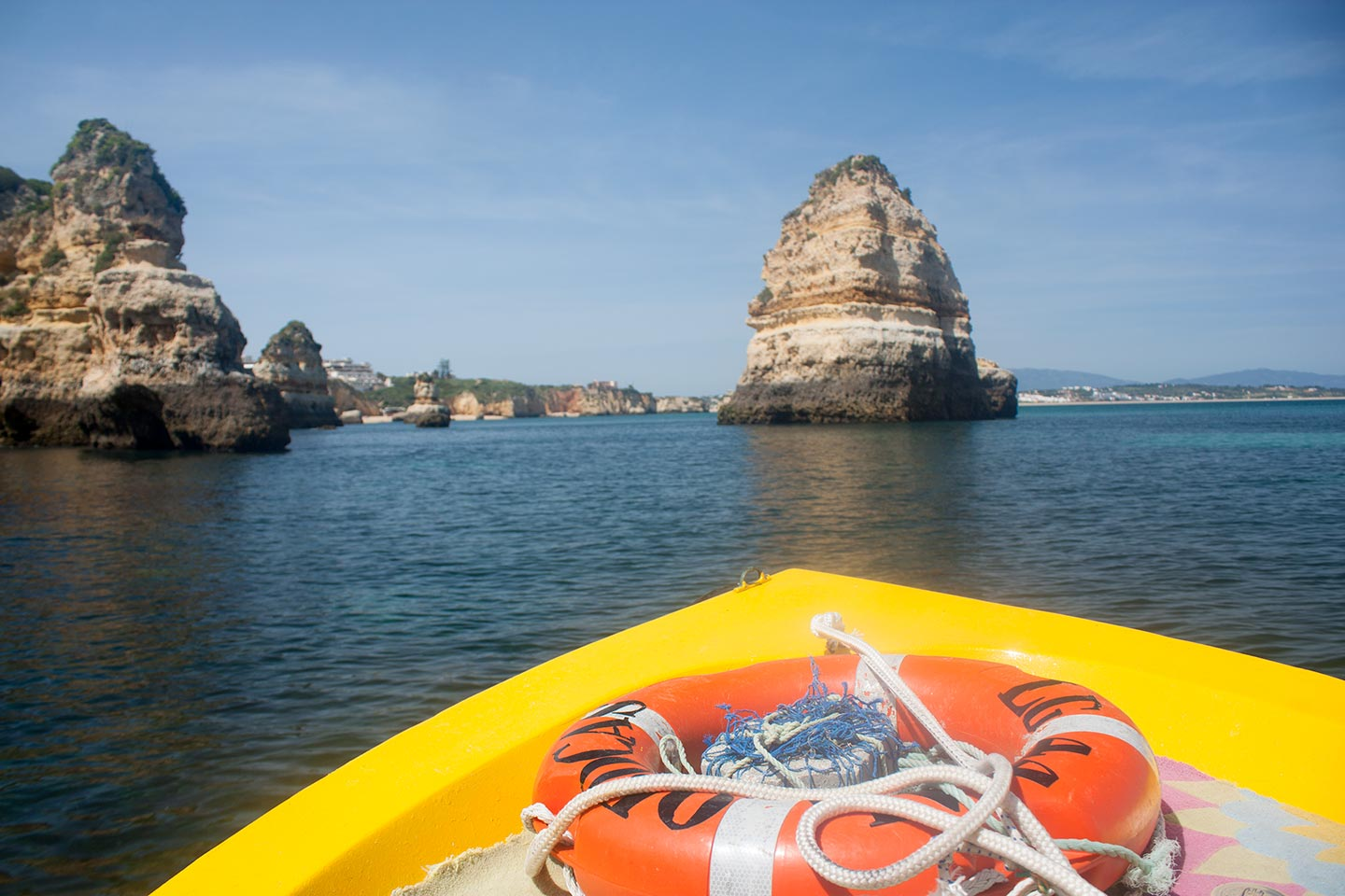 Image of boat trip along the coast of Ponta da Piedade, Lagos