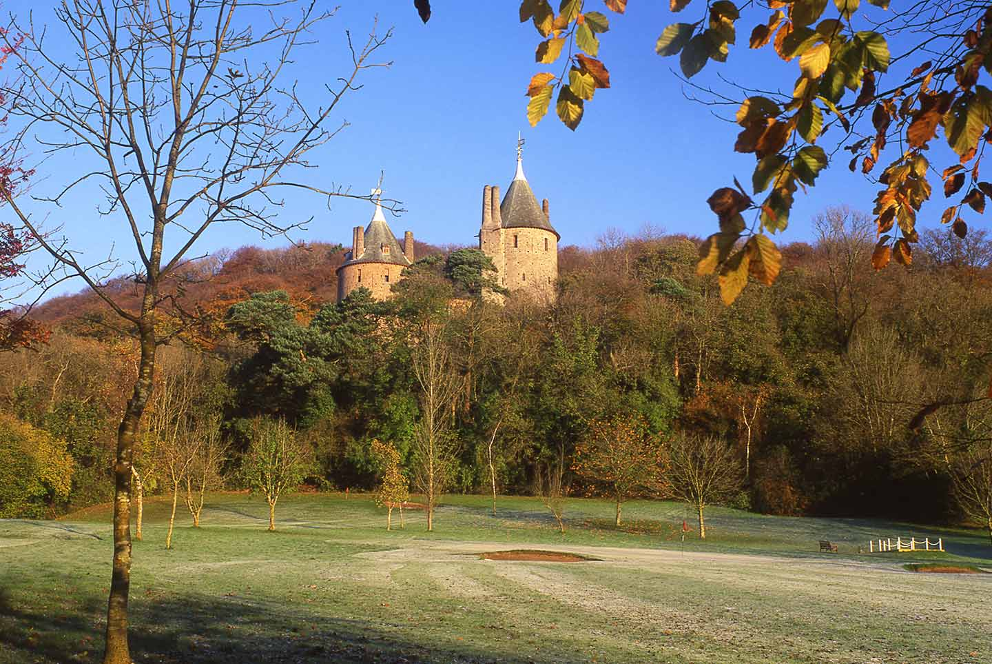 Image of Castell Coch, on the outskirts of Cardiff
