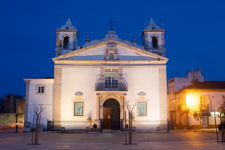 Image of Santa Maria de Lagos church in Lagos Old Town