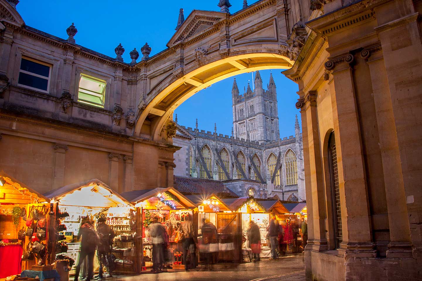 Image of Bath Christmas Market and Abbey