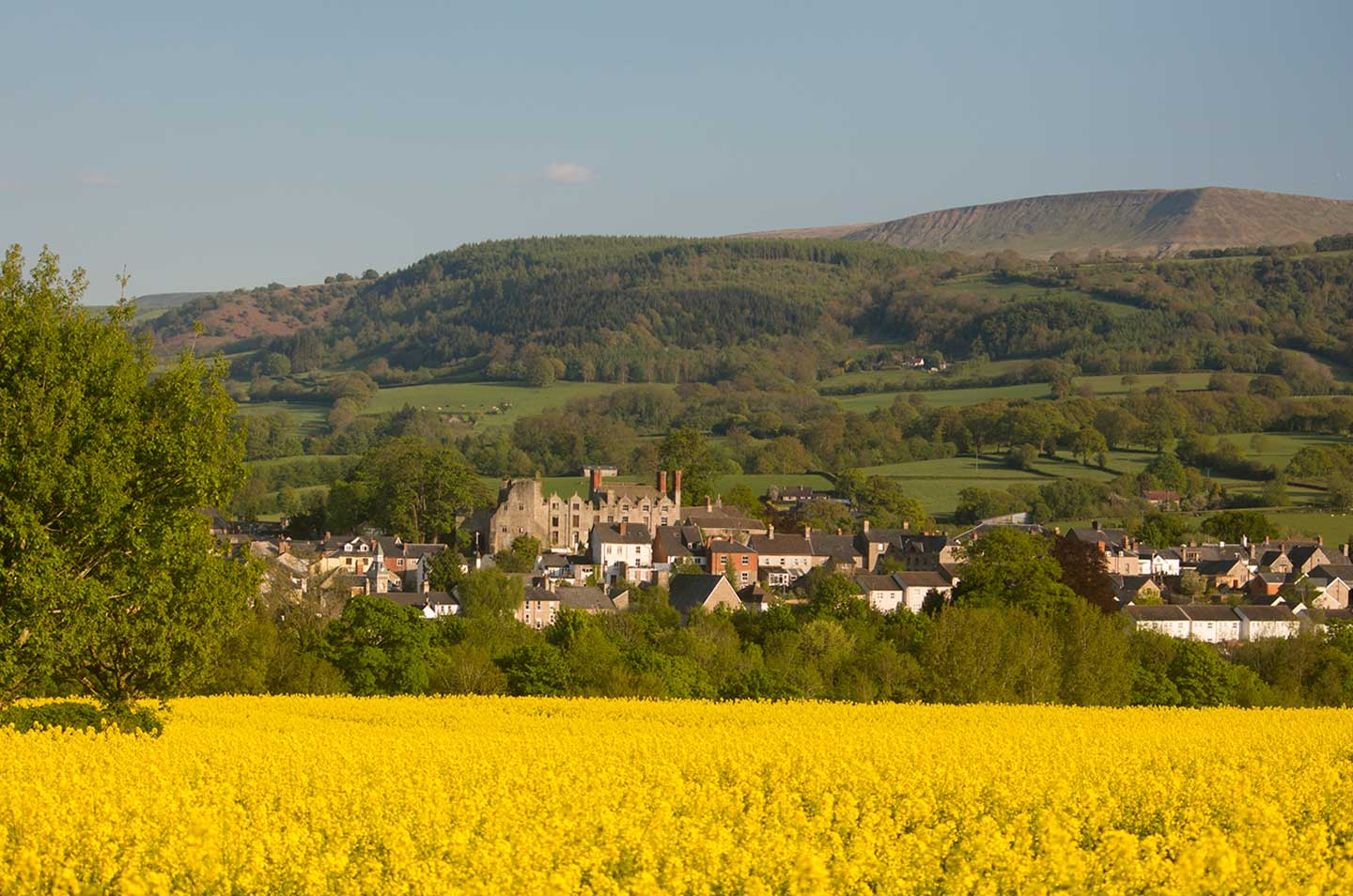 Image of the book town of Hay-on-Wye, Wales