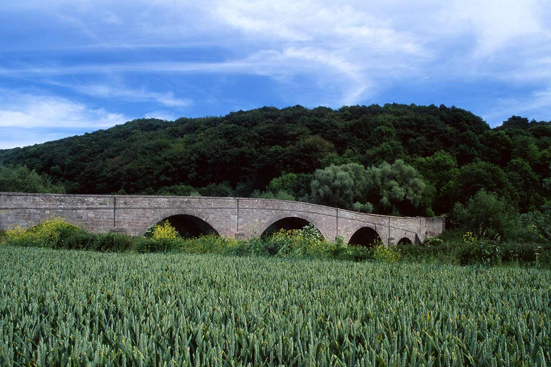 Image of Kerne Bridge in the Wye Valley, England