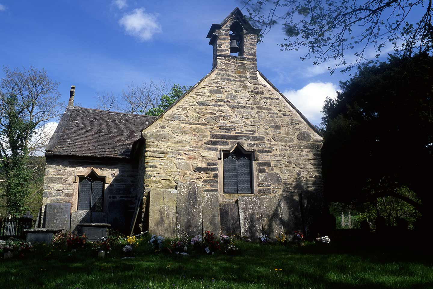 Image of the 14th century St Michael's Old Church in Betws-y-Coed
