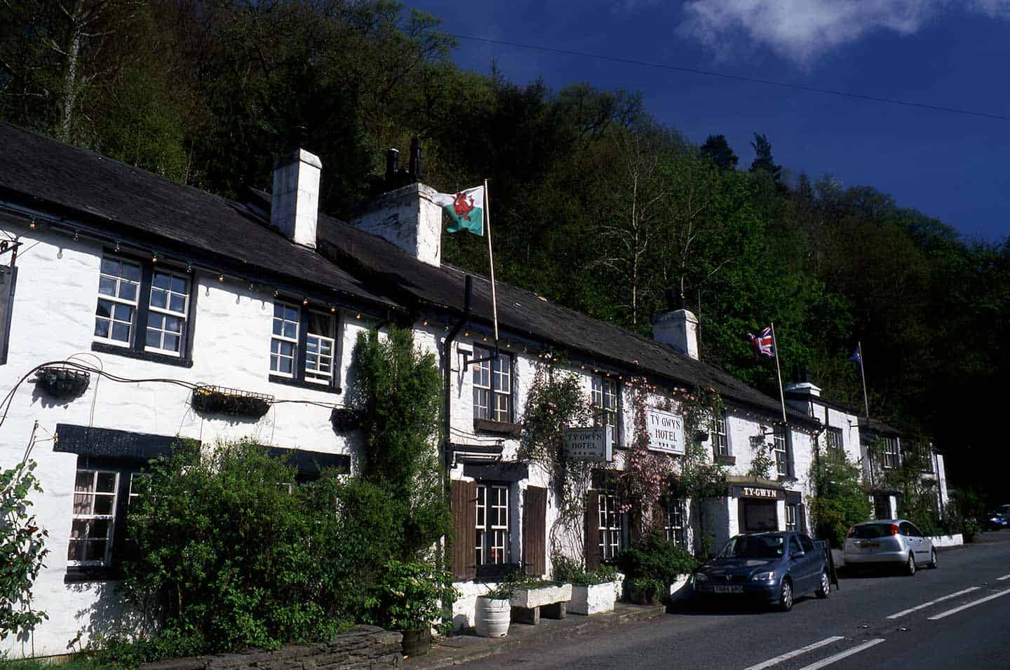 Image of the Tŷ Gwyn hotel in Betws-y-Coed