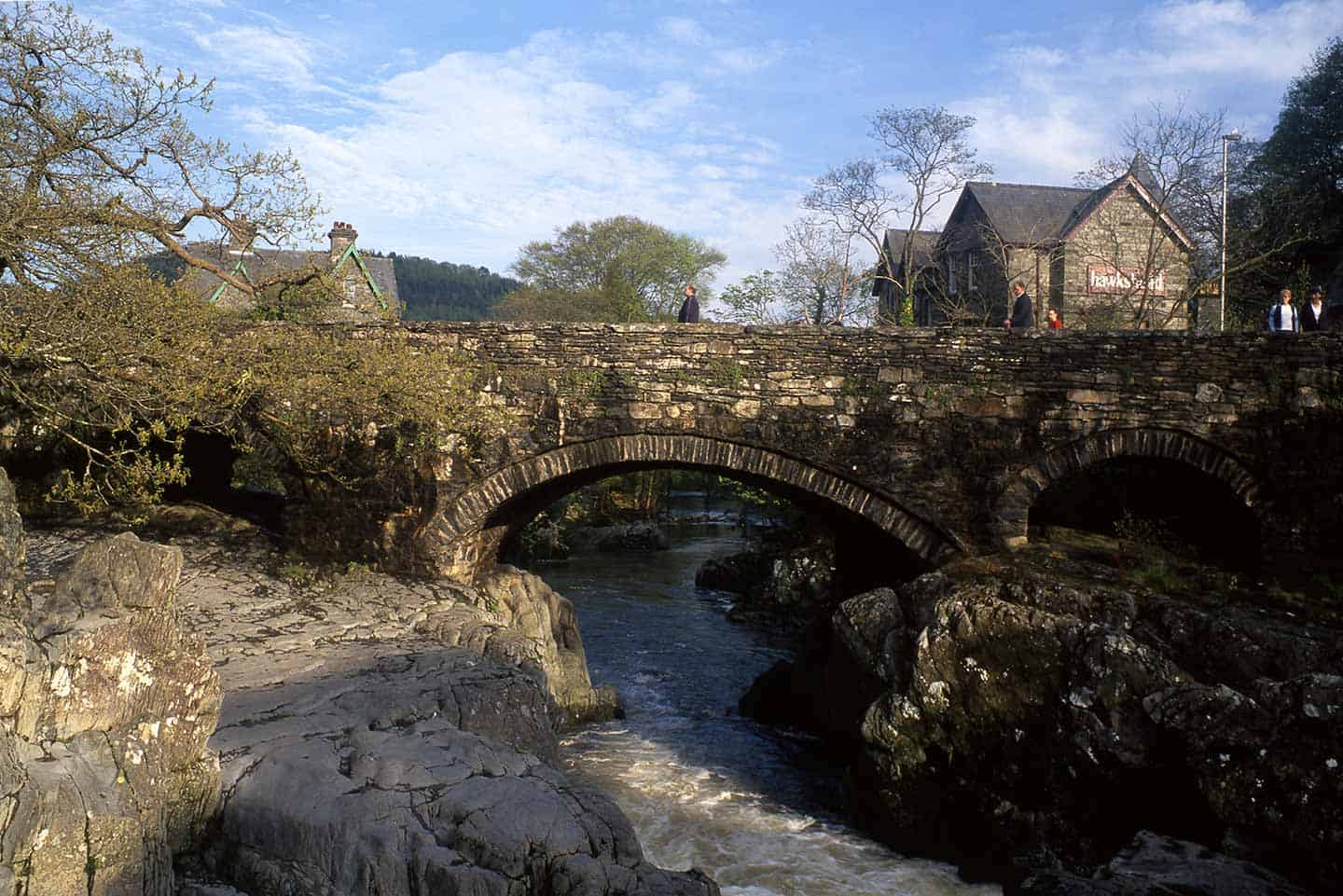 Image of the Pont-y-Pair bridge in Betws-y-Coed