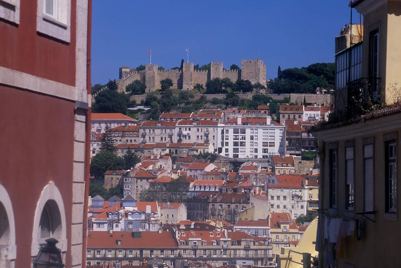 VIsit Portugal Image of the Castelo de São Jorge, Lisbon