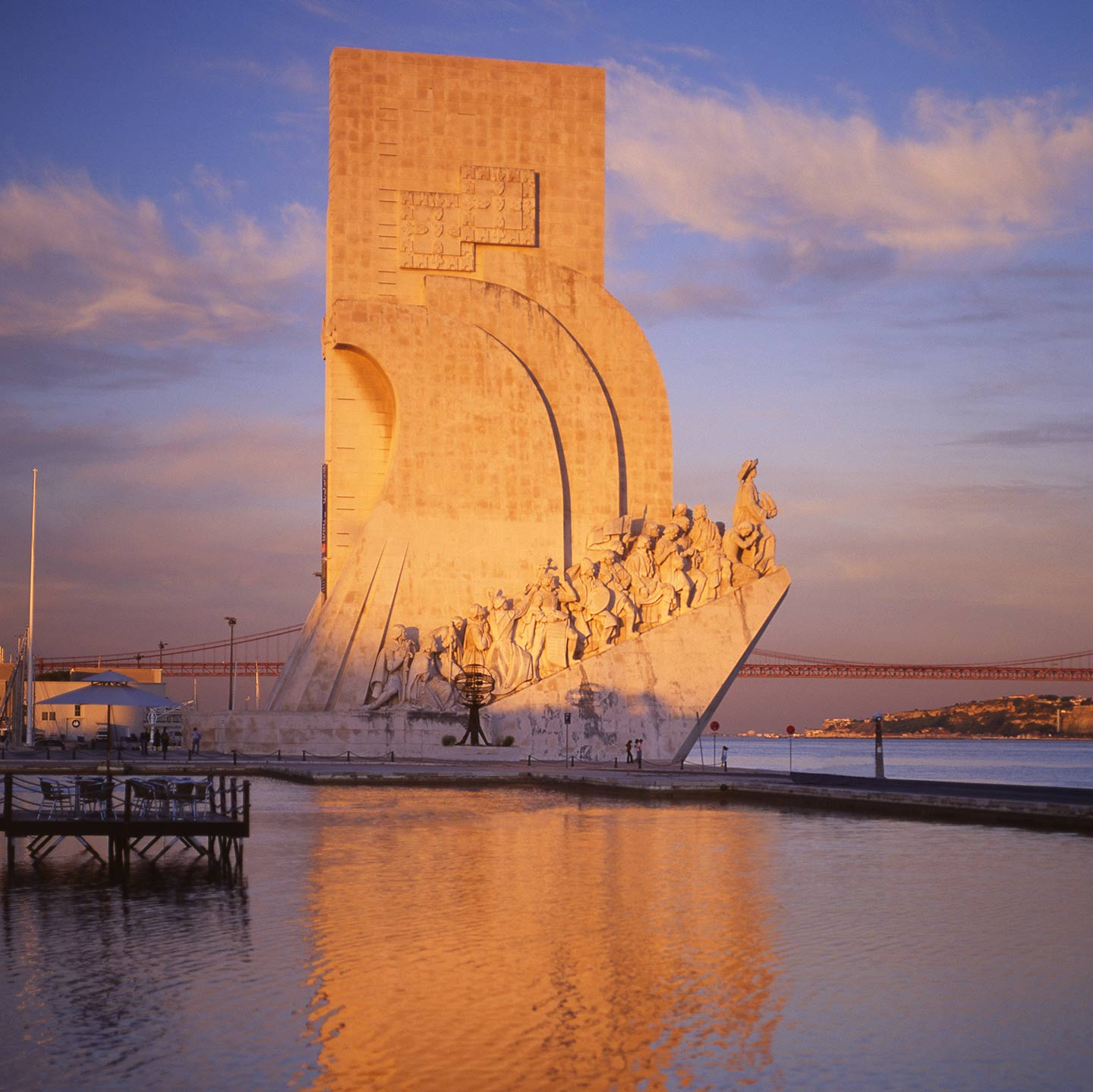 Image of the Monument to the Discoveries in Belem