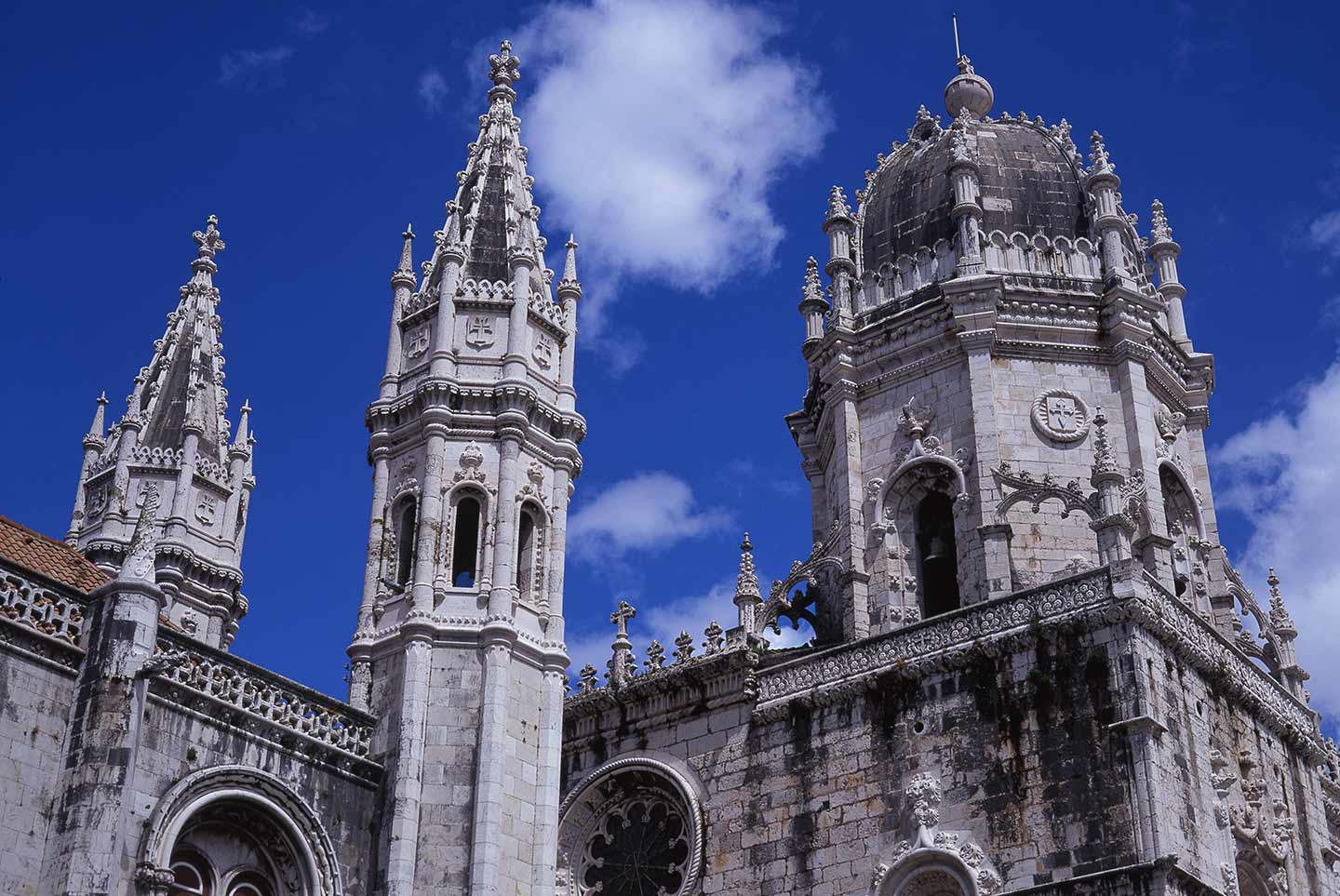 Image of the Mosteiro dos Jeronimos in Belem, Lisbon