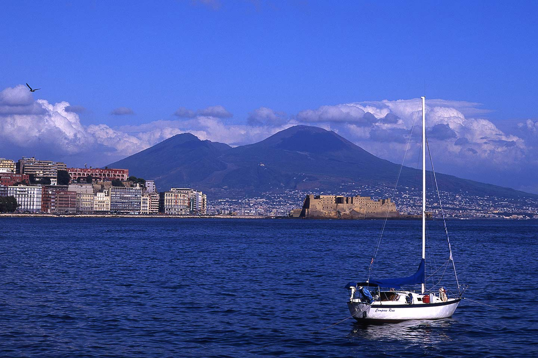 Image of Naples and Vesuvius