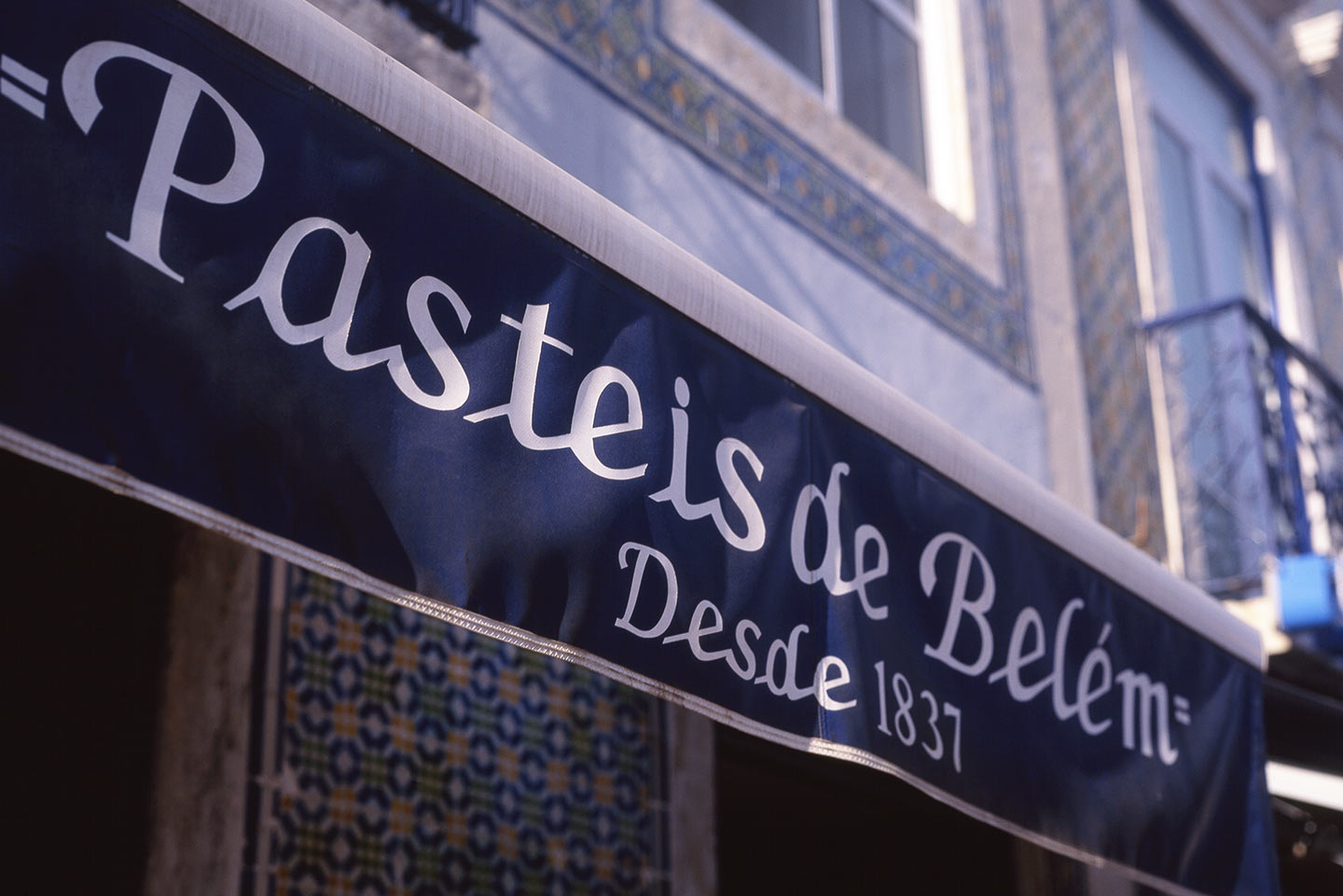 Image of the Pasteis de Belem cafe, Lisbon