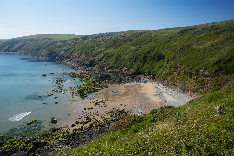 Image of Porth Ysgo beach near Aberdaron