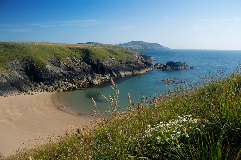 Image of Porth Iago beach