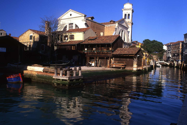 Image of the church of San Trovaso Venice