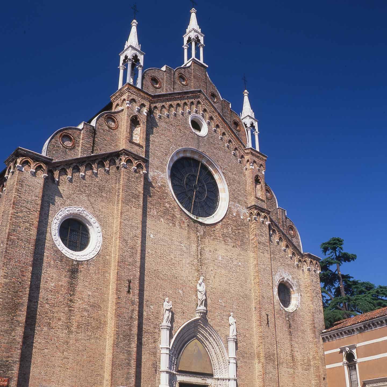 Image of the Frari church Venice