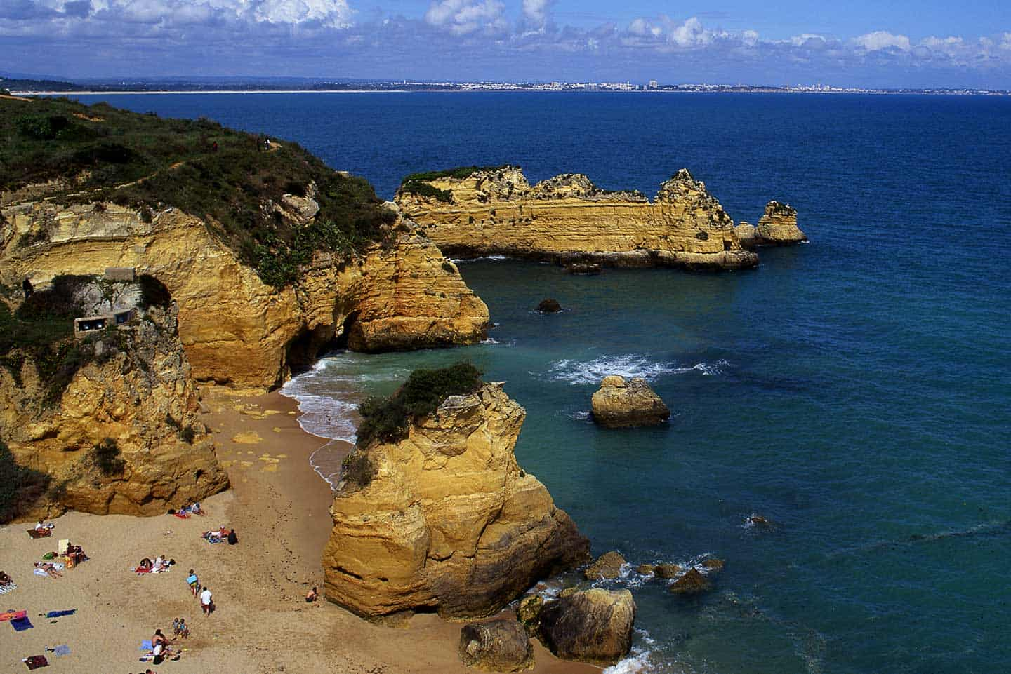 Image of Praia Dona Ana, one of the best beaches in Algarve
