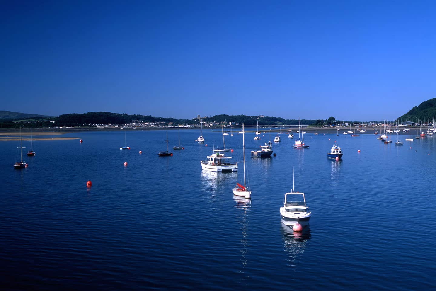 Image of the Menai Strait, Anglesey