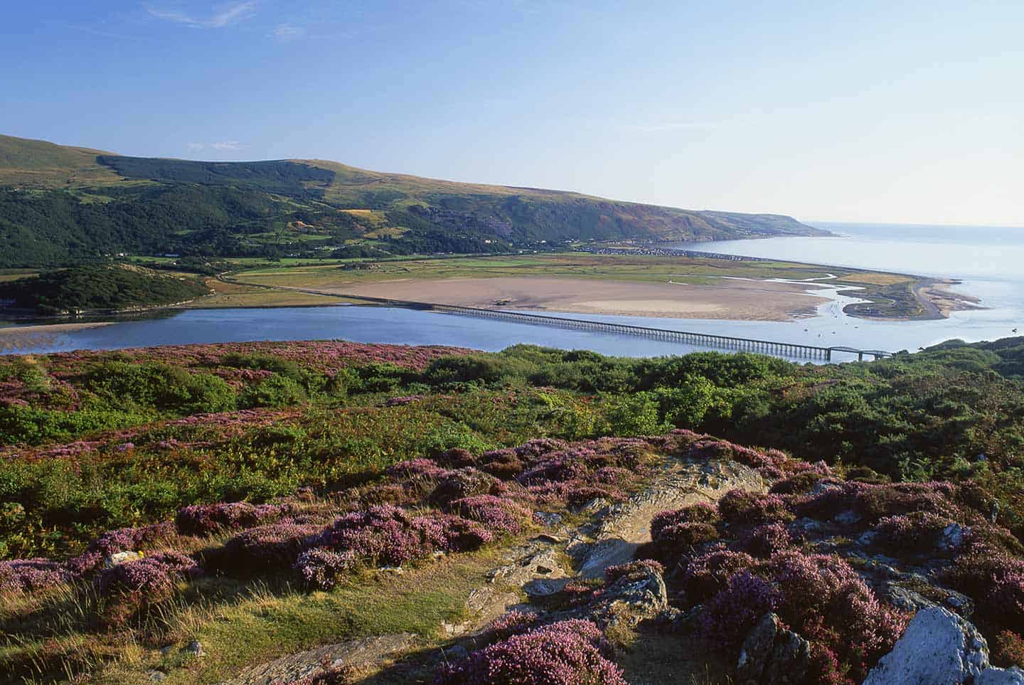Image of a view from the Panorama Walk, Barmouth